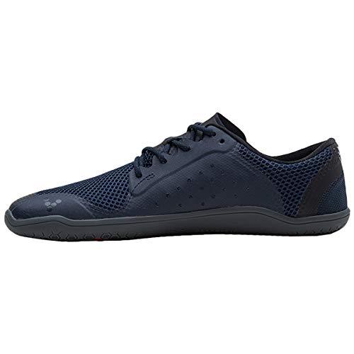 Para Mujer Morado Cuero Zapatos De Cordones Vivobarefoot Nobuck wxqSvRYKX
