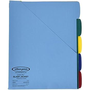 Amazon.com : Filexec Two Pocket Folder, Three Hole Punched ...