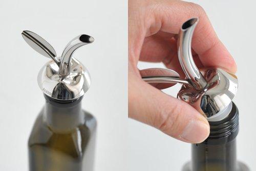 Alessi Olive Oil Dispenser and Taster Fior D'olio. Designer Marta Sansoni. Unique Olive Oil Gift. by Alessi (Image #4)