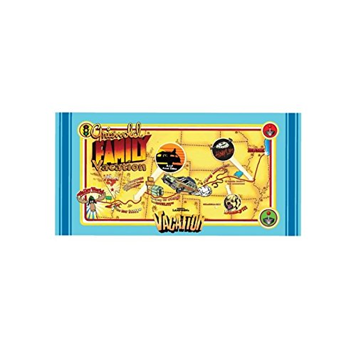 Factory Entertainment National Lampoon's Vacation Map Beach Towel
