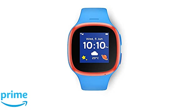 Alcatel V-Kids Watch by Vodafone Reloj Inteligente para niños con V-SIM incluida: Amazon.es: Electrónica