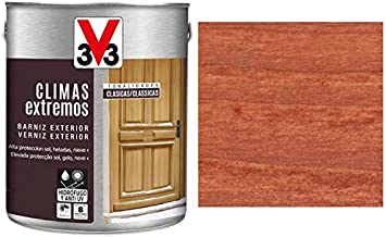 BARNIZ MADERA V33 CLIMAS EXTREMOS SAPELLY: Amazon.es ...