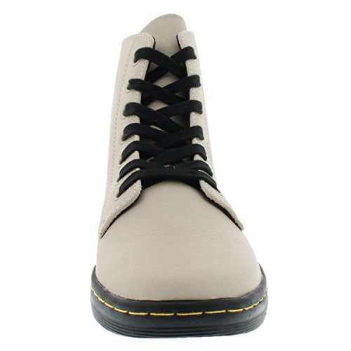 Dr. Martens Women's Leyton 7 Eye Boot Boot,Ivory,7 UK/Women's 9 M US
