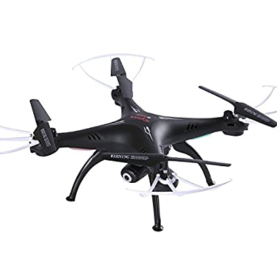 Cheerwing Syma X5SW-V3 FPV 2.4Ghz 4CH 6-Axis Gyro RC Headless Quadcopter Drone UFO with Wifi Camera Black by Cheerwing