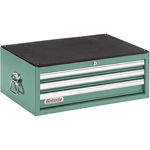 Grizzly Tool Box - Grizzly H5653 3 Drawer Ful Length Depth Chest
