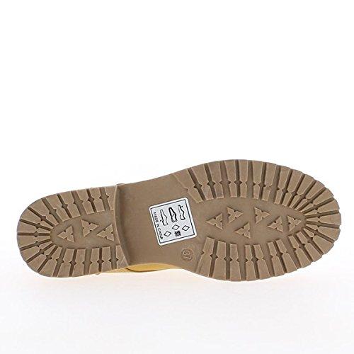 Stivali donna cammello a 2,5 cm tacchi e lacci