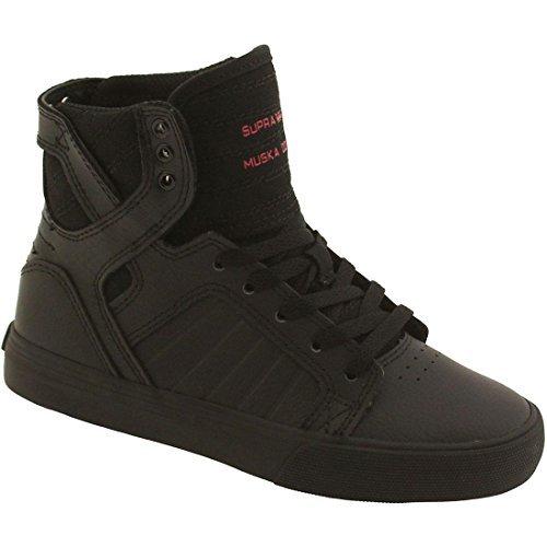 Chocolate Metallic Footwear - Supra Kids Boy's Skytop (Little Kid/Big Kid) Chocolate Metallic Leather Sneaker 3.5 Big Kid M