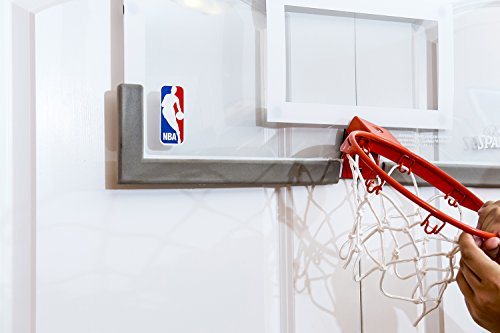 Genial Amazon.com : Spalding NBA 180 Breakaway Over The Door Mini Basketball Hoop  : Sports U0026 Outdoors