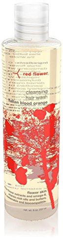 (Red Flower Italian Blood Orange Cleansing Hair Wash, 8 oz)