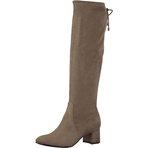 Women's Uk Tamaris Beige Boots 7 Size Fxda04