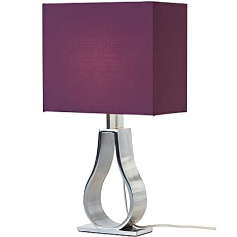 Ikea klabb table lamp with lilac color fabric shade amazon ikea klabb table lamp with lilac color fabric shade aloadofball Gallery