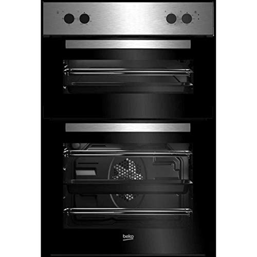 Beko BRDF21000X A/A Rated Built-In Electric Double Oven - Stainless Steel