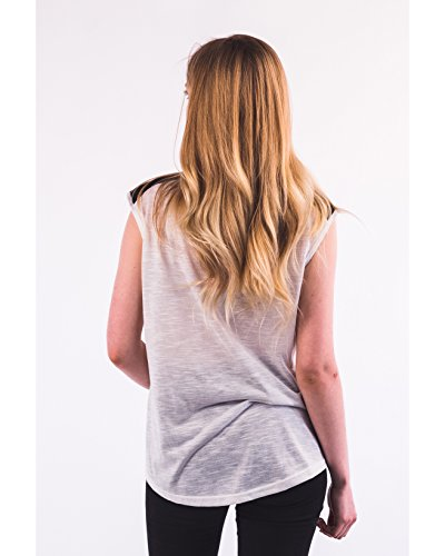 Exceptional Products - Camiseta sin mangas - para mujer blanco