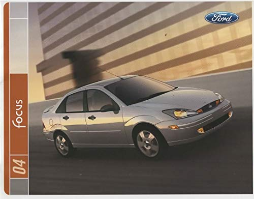 Dealer Sales Brochure for 2004 Ford Focus, All Models ZX3-ZX5-ZTS-SVT-ZTW Wagon