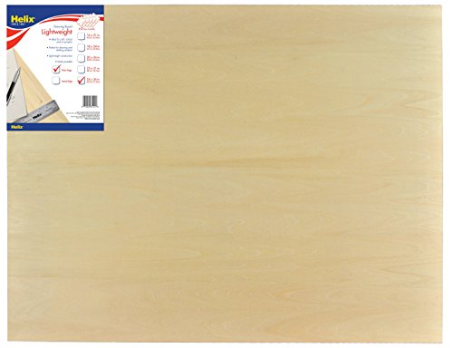 Helix Drawing Board, 24 Inch x 36 Inch, Plain Edge (37415) by Maped Helix USA
