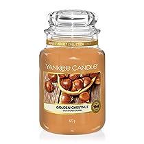 Vela aromática grande (150 horas), olor a castaña tostada - Yankee Candle