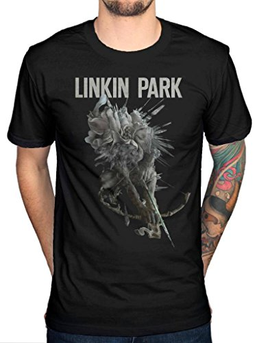 Official Linkin Park Bow T-Shirt Band Merchandise (Linkin Park Band)