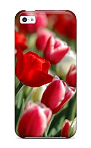 TYH - Fashionable Iphone 5/5s Case Cover For Tulips Spring Protective Case phone case