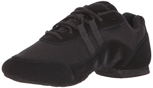 SANSHA Salsette 3 Jazz Sneaker,Black,9 (8 M US ()