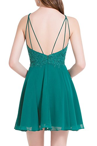Missdressy - Vestido - trapecio - para mujer borgoña