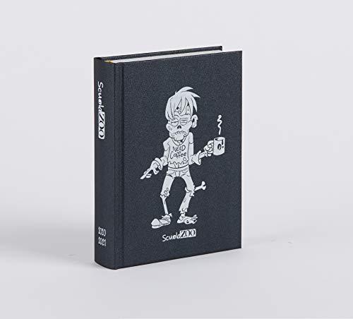 ScuolaZoo Diario 2020-2021 Datato 16 Mesi Limited Edition, Classic 11x15 cm (Nero Metallizzato) 1