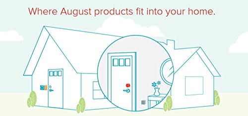 August Smart Lock 2nd Generation – Silver, Works with Amazon Alexa by August (Image #7)