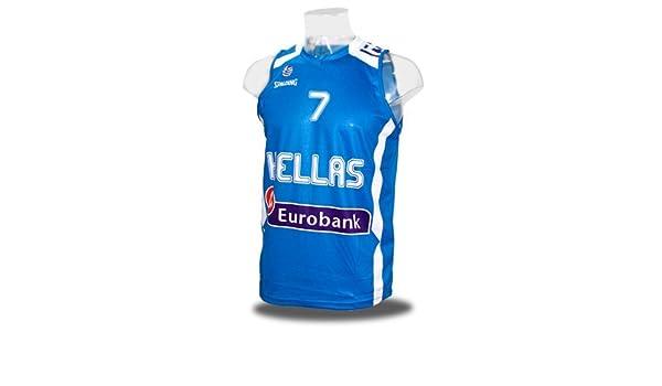 Camiseta de la selección de Grecia. 1ª equipación.: Amazon.es ...