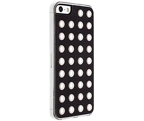 Benjamins Schutzhülle mit Perle für iPhone 5/5S, Schwarz
