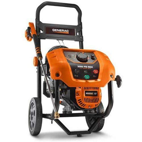 Generac 6809 Gas Powered 2000-3000 psi Variable Pressure Washer Discontinued by Manufacturer