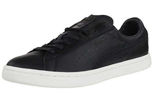 Puma Court Star Leather Sneaker Men Trainers black 356917 03