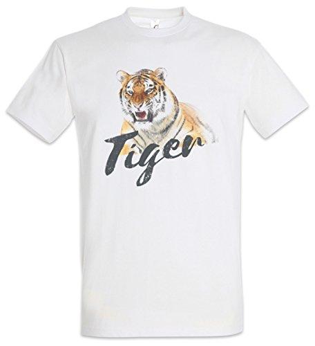 Tiger T-Shirt – Fell Tigers Tattoo Asia White Animal Wildlife Africa Welfare Cat Raubkatze by Urban Backwoods