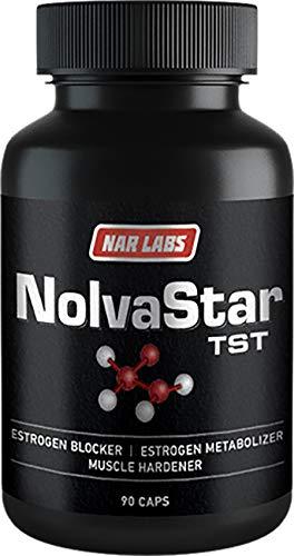 Nar Labs NolvaStar   Estrogen Blocker   All-Natural   DIM, Calcium-D-Glucarate, Avena Sativa   Chrysin   90 Capsules