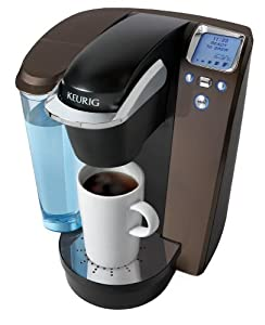 Keurig Platinum Single Serve Brewer, No more wasted coffee being thrown away and we always have a