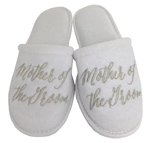 Wedding Slippers - (Medium (W6-8), Mother of The Groom)