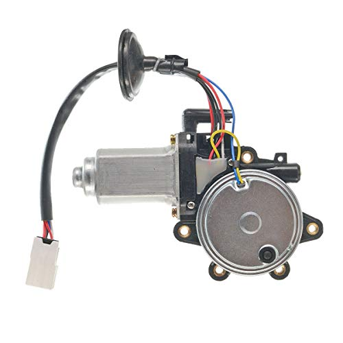 A-Premium Anti-Clip Function Window Regulator Motor for Nissan 350Z 2003-2009 Infiniti G35 2003-2007 Front Left Driver Side