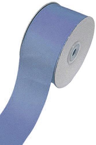 Ben Collection 2 Inch X 50 Yard Grosgrain Plain Ribbon Party, Wedding Favor Crafting Ribbon (Antique Blue)