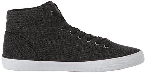Lugz Mens King Fashion Sneaker Black/White/Gum hoUOR09L9