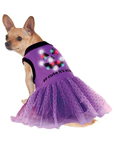 Rubie's LED Light-Up Halloween Dog Costume Dress