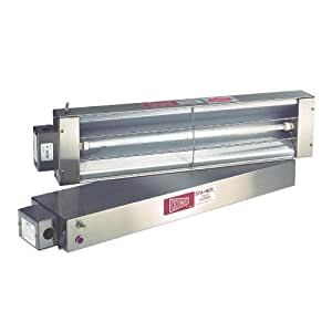 Grindmaster - Cecilware FW24Q 120 Heat Lamp, 24 in L, Quartz Heating Element, Stainless Housing, 120 V, Each