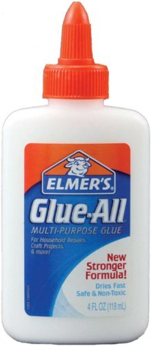 Elmer's Glue-All Glue Multi-Purpose 4 Fl Oz /118 Ml (Pack of 6) by Elmer's
