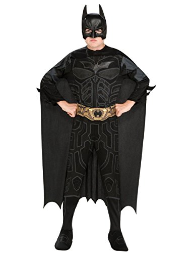 Batman Dark Knight Rises Child's Batman Costume with Mask and Cape - Small ()