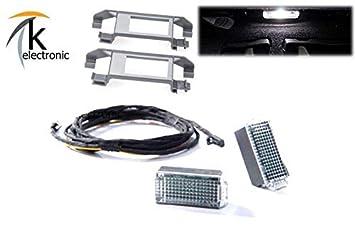 k-electronic Seat Ateca kh7 reequipamiento reposapiés LED - Iluminación Trasera Trasera del Paquete: Amazon.es: Coche y moto