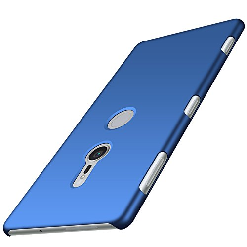 Anccer Sony Xperia XZ2 Case [Colorful Series] [Ultra-Thin] [Anti-Drop] Premium Material Slim Full Protection Cover for Sony Xperia XZ2 2018 (Smooth Blue)