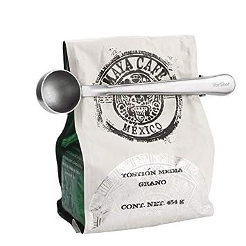 Amazon.com: Pinzas para bolsa – Simple acero inoxidable ...