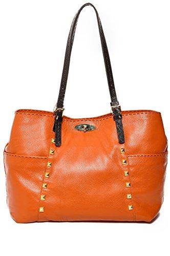 andrea-shopper-with-studs-orange
