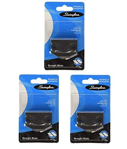 Swingline Replacement Blade for SmartCut Commercial Series Paper Trimmers, Straight Blade, Sold as 3 Pack (9613RB) by Swingline