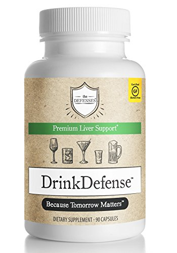 New Hangover Prevention Liver Support Drink Defense Gluten-Free Milk Thistle Turmeric
