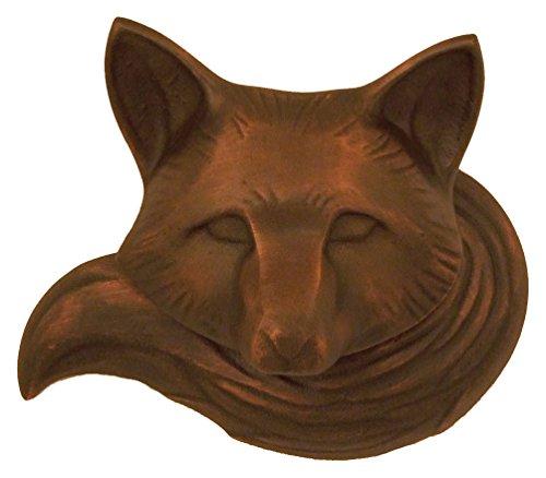 (Fox Door Knocker - Oiled Bronze (Premium Size))