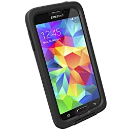 Lifeproof Fre Series Case for Galaxy S5 - Retail Packaging - Black/Clear