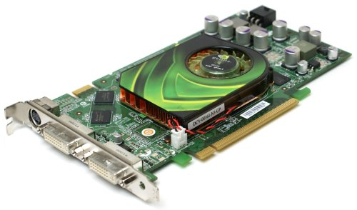NVIDIA P455 GeForce 7900 GS 256MB GDDR3 Memory 1320Mhz SDRAM PCI-E Dual DVI + S-Video High Profile, Video Graphics - Dual S-video